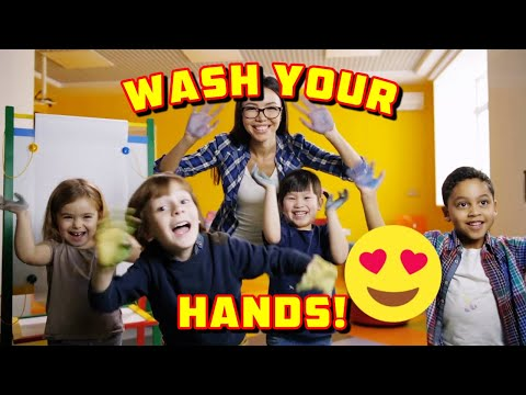 WASH YOUR HANDS SONG For Kids   Health, Hygiene