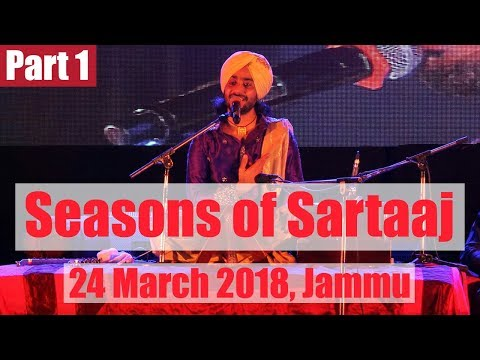Satinder Sartaaj's Live Concert in Jammu | Part 1
