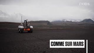 La Nasa teste son astromobile pour Mars sur un champ de lave en Islande