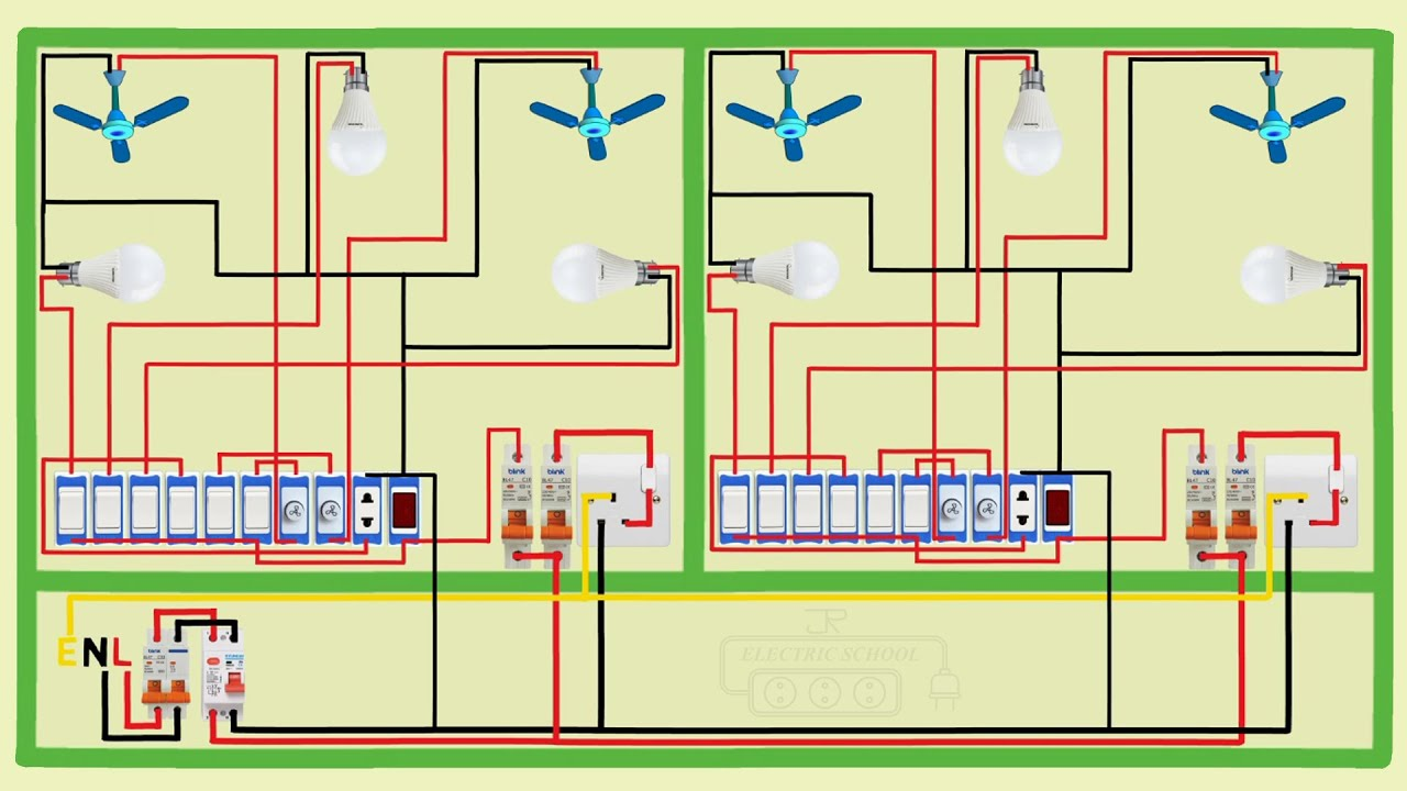electrical house wiring full video