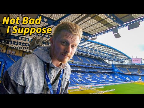 LIVERPOOL FAN TAKES CHELSEA TOUR - Stamford Bridge, Chelsea Football Club