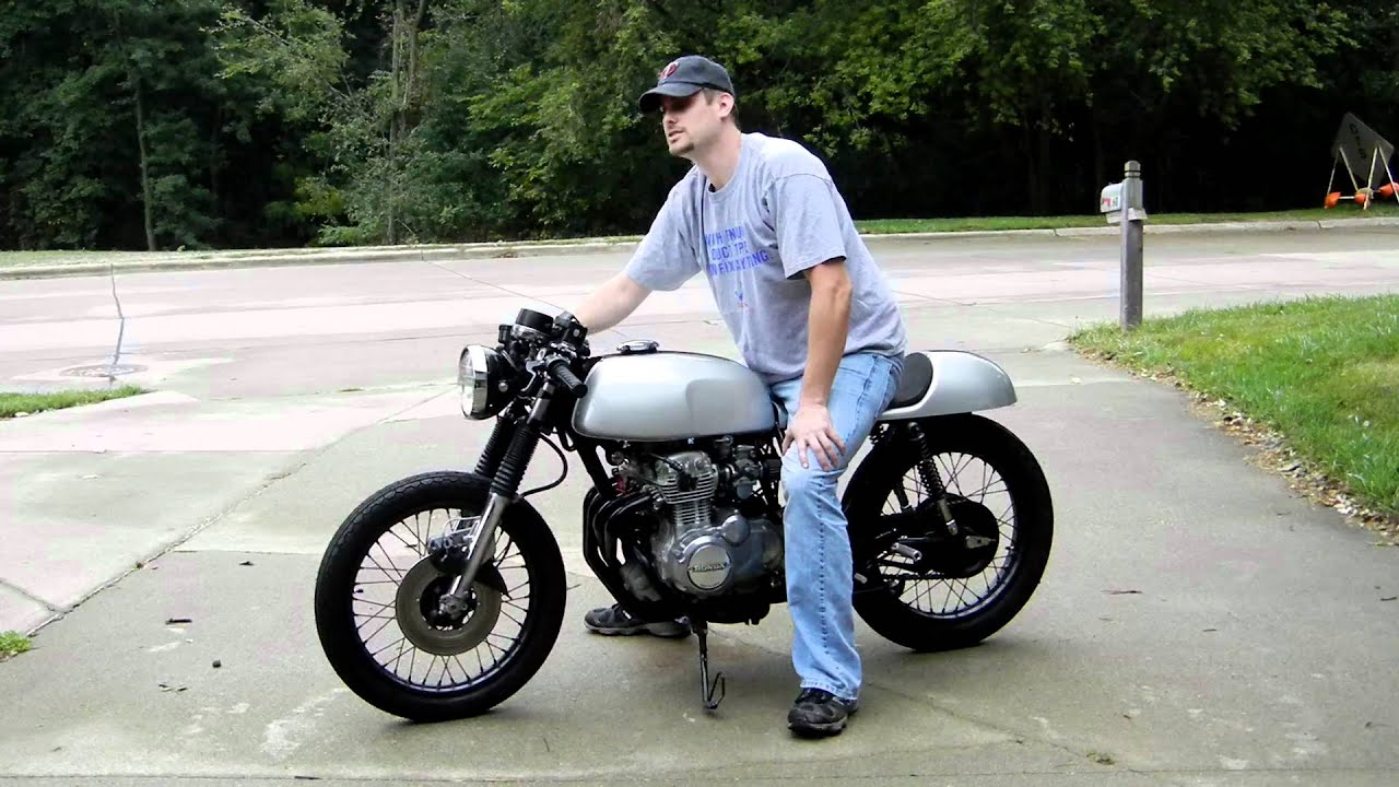 1974 Honda CB350F Cafe Racer Project Bike