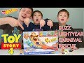 *NEW*Toy Story 4 Hot Wheels Buzz Lightyear Carnival Rescue Playset UNBOXING/REVIEW