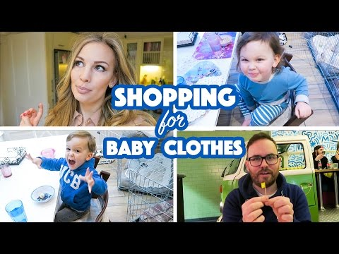 Shopping For Baby Clothes! | Anna Saccone