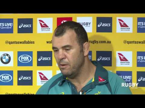 Cheika responds to fans