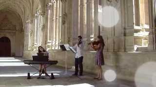 A Thousand Years (Christina Perri, Piano Guys) || Trío Ad Libitum (Música para bodas en Salamanca)