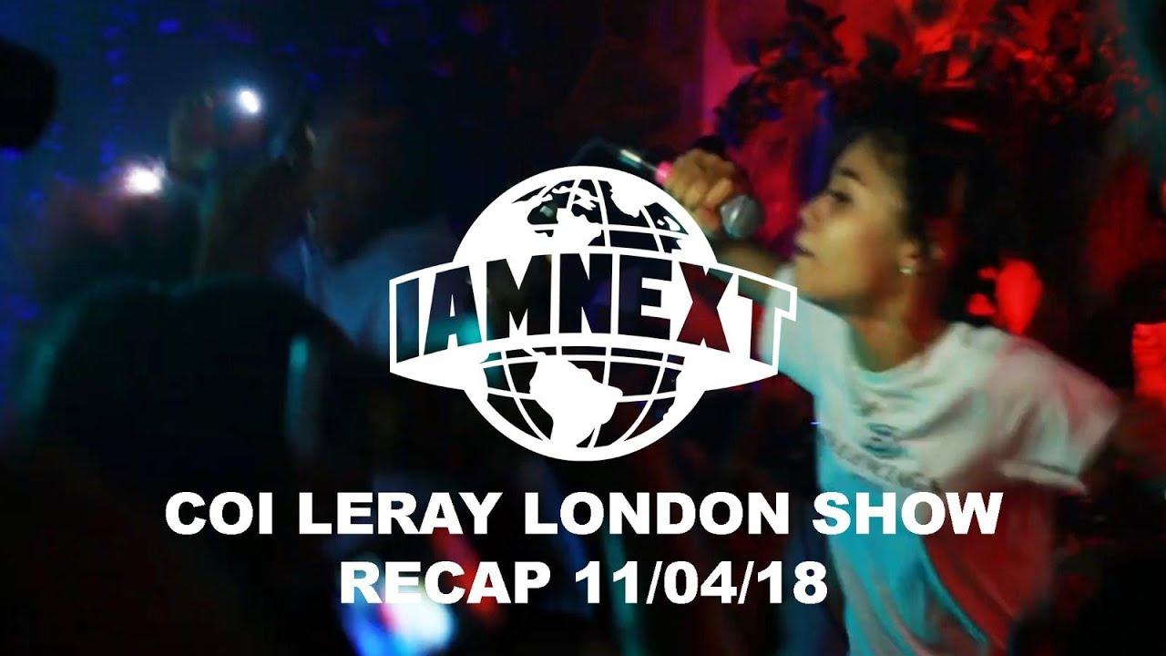 Coi Leray first pop up London show x I AM NEXT [17/04/19] @IAMNEXTPLATFORM