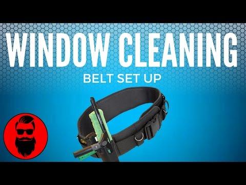 My Window Cleaning Belt Set Up