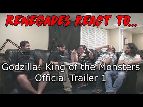 Renegades React to... Godzilla: King of the Monsters - Official Trailer 1