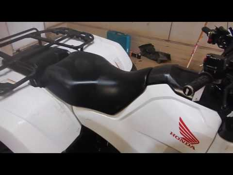 Getting stains out of white ATV Plastics