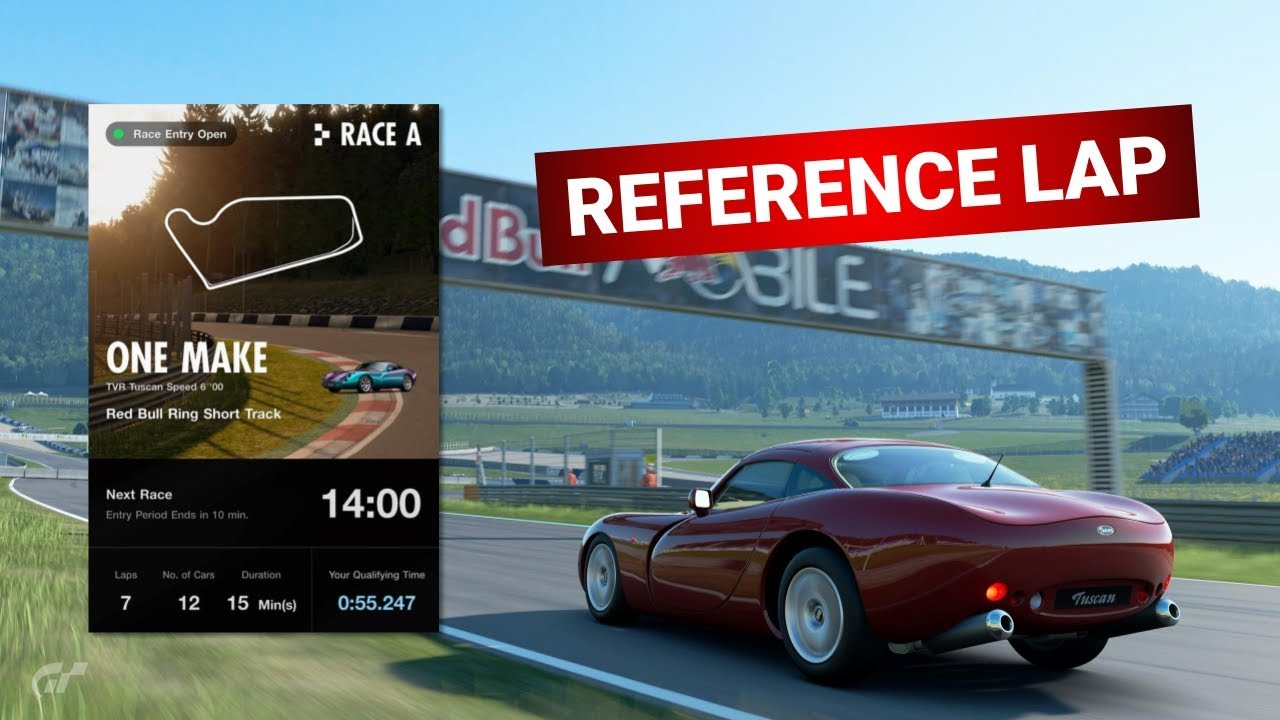 GT Sport Reference Lap | Red Bull Ring Short | TVR Tuscan | 55.247 | Daily Race A