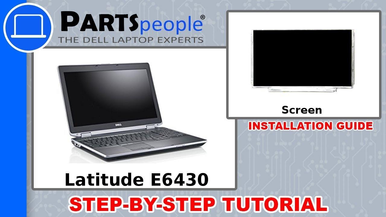 Dell Latitude E6430 (P25G001) Screen Removal & Installation