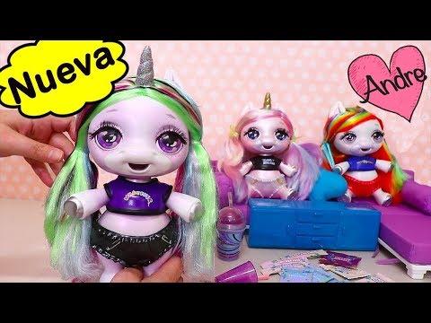 Nueva muñeca Unicornio que hace SLIME | Muñecas y juguetes con Andre para niñas y niños