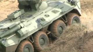 Бронетранспортеры грязи не боятся - новый БТР-82