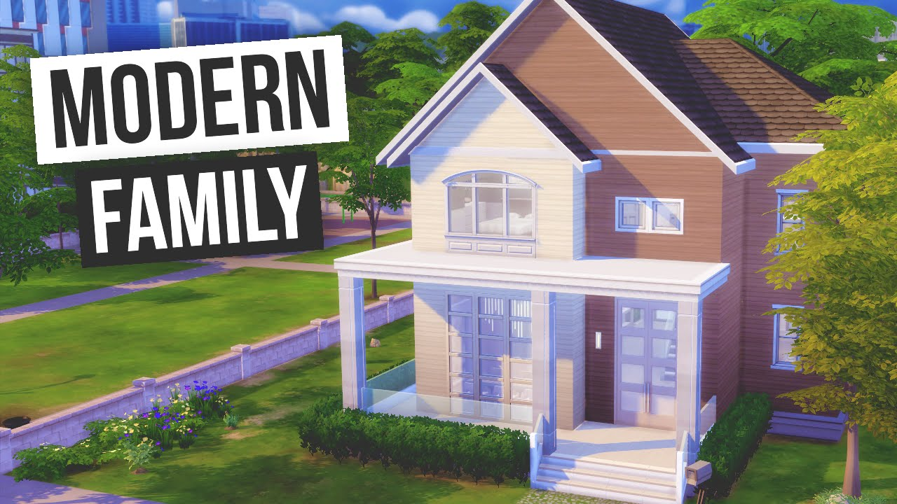 The sims 4 speed build modern family youtube for Modern family house 90210