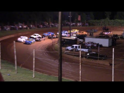 Winder Barrow Speedway Stock 4 Cylinders A's Feature Race 8/10/19