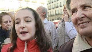 Des moutons au coeur de Madrid, en souvenir de la transhumance