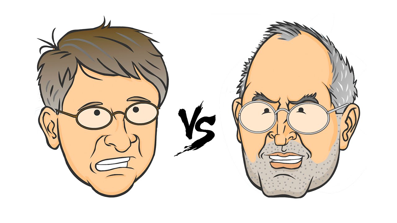 gates vs jobs Bill gates vs steve jobs one of the biggest differences with bill gates from steve jobs is he was not as creative as steve he didn't share his passion for developing through his ideas alone.
