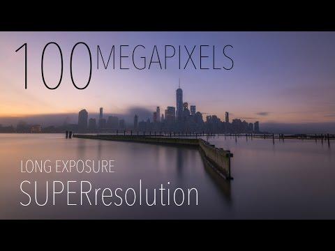 100 Megapixels!? Long Exposure Super Resolution Tutorial