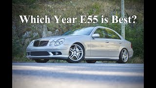 E55 AMG W211 Changes by Model Year (4K)
