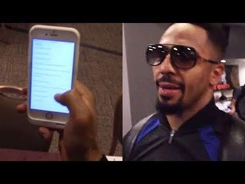 ANDRE WARD REVEALS INTENSE, DETAILED SPARRING SCHEDULE FOR KOVALEV REMATCH; 135 ROUNDS TO PREPARE