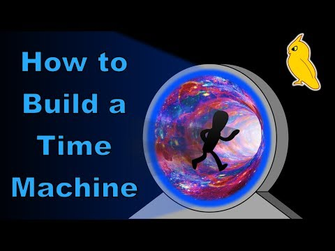 How Would I Build My Time Machine