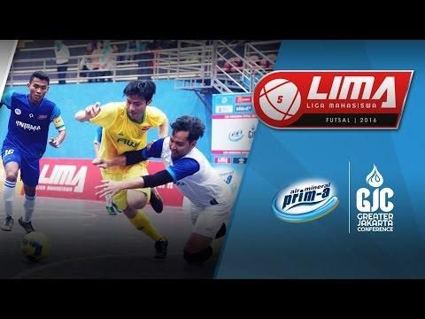 LIMA Futsal Air Mineral Prim-A GJC Season 4: UNJ vs UNISMA (Men's)