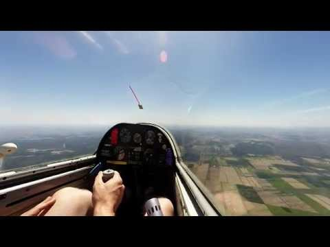Gliding Lesson - Full Early Flight