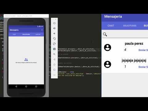 68. Solicitudes, Buscador Y Amigos #8 | Sistema De Chat Avanzado En Tiempo Real - Android Studio