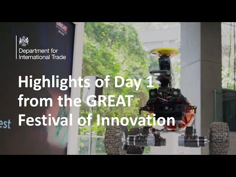 Highlights of Day 1 from the GREAT Festival of Innovation