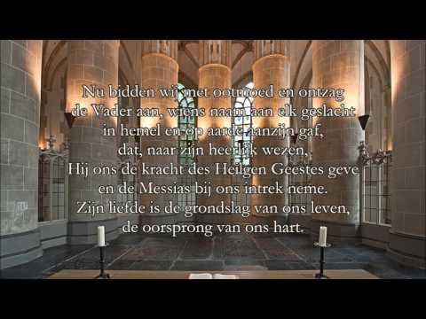Gezang 95: Nu bidden wij met ootmoed en ontzag