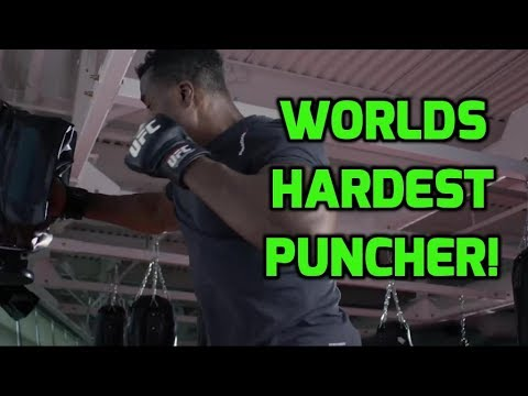 The Hardest Puncher Recorded in the World!
