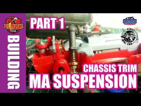 (1 of 3) ミニ四駆 Mini 4WD Tutorial Independent Suspension (MA Chassis) - 동영상