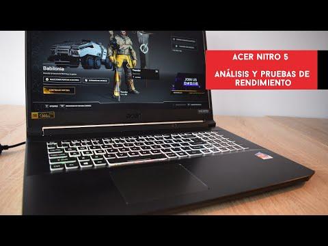 Acer Nitro 5. Análisis y pruebas de rendimiento con Ryzen 7 5800H y RTX 3070 | Gameit ES