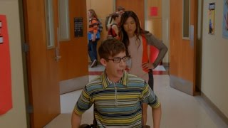 Glee - Tina and Artie argue about Valedictorian 5x09
