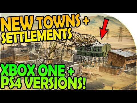 NEW SETTLEMENTS / NEW TOWNS INBOUND, PS4 + XBOX ONE VERSION- Last Day On Earth Survival 1.6.2 Update