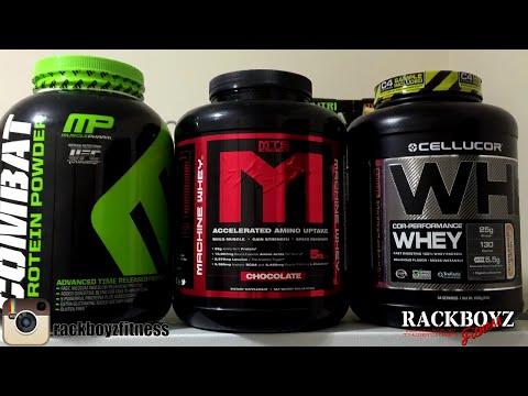 BEST PROTEIN? MUSCLE PHARM vs MTS vs CELLUCOR WHEY - YouTube