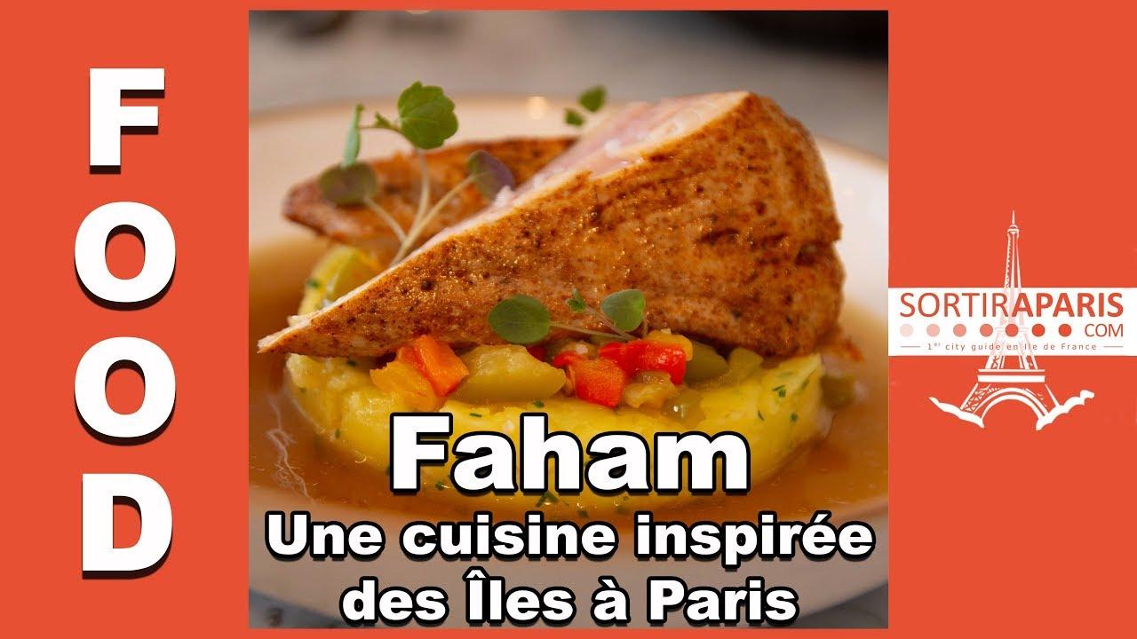 Faham Kelly Rangama S Michelin Starred Restaurant In Paris
