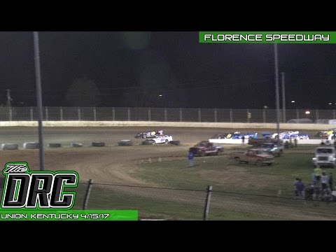 Florence Speedway | 4.15.17 | Crate Late Models | Feature