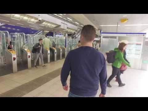 Vervangend busvervoer Hoekse Lijn - Looproute Schiedam