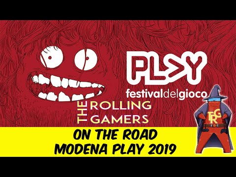 Modena Play 2019 [On the Road]-[The Rolling Gamers] I giochi che vi consigliamo + Vincitore contest