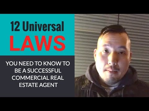 How to Use the 12 Universal Laws to Become a Successful