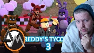 Roblox Freddy's Tycoon 3 - FOXY RUNNING!! - Secret Location!