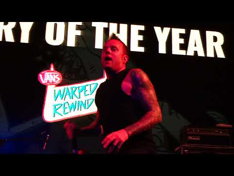Story of the year  Anthem of our dying day  on WARPED REWIND CRUISE 2017