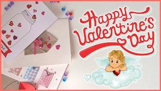 Открытки ко Дню Святого Валентина своими руками / DIY Valentine's Day