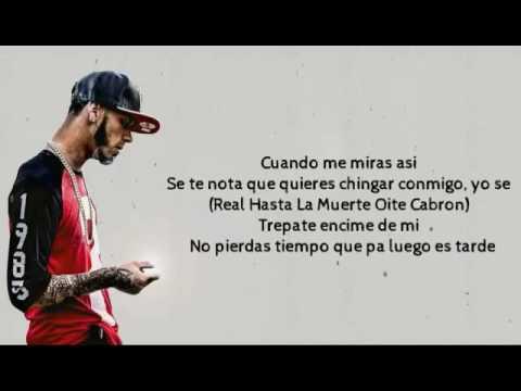 Noriel feat. Anuel AA, Baby Rasta - Diablita (video lyrics) 2016