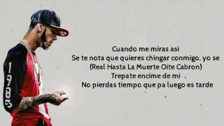 noriel feat  anuel aa  baby rasta   diablita  video lyrics  2016