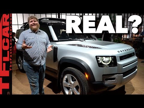 Is The 2020 Land Rover Defender A
