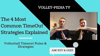 Volleyball Timeout Rules & Strategies