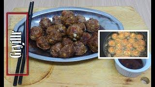 Garlic pepper Meat balls  How to Make Meatballs